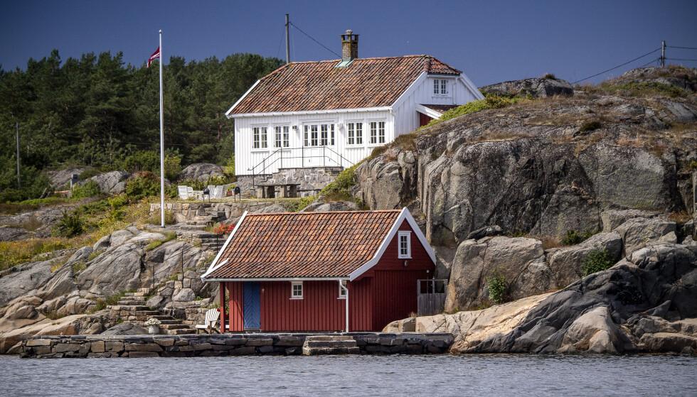 BLINDLEIA: Her Annicken Tvenge hytteparadis. Foto: Lars Eivind Bones / Dagbladet.