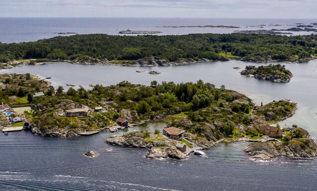 EKSKLUSIVT OMRÅDE: Ifølge eiendomsmegler Sædberg er Blindleia et svært eksklusivt og ettertraktet område. Foto: Lars Eivind Bones / Dagbladet.
