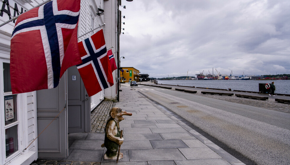 FORLATT: Ingen cruiseturister har gått i land på havna i Stavanger siden mars. Foto: Lars Eivind Bones / Dagbladet.