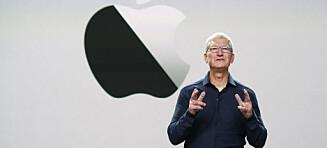 Apple slipper å betale gigantregning