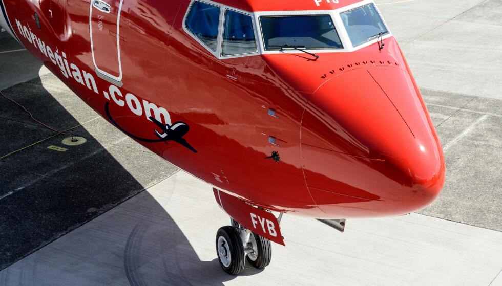 BOEING 737 MAX: Denne flytypen har vært en katastrofe for Norwegian og mange andre flyselskaper. Foto: Alastair Philip Wiper/View/REX/NTB Scanpix