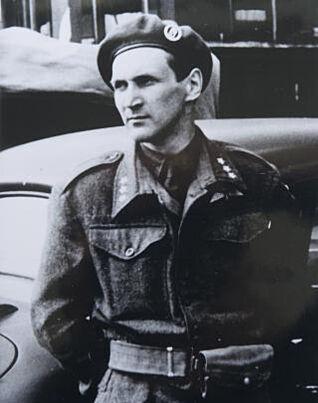 KRIGSHELT: Under andre verdenskrig var han leder for «Oslo-gjengen». Her er Sønsteby avbildet under frigjøringsdagen 8. mai 1945. Foto: PRIVAT / Dagbladet