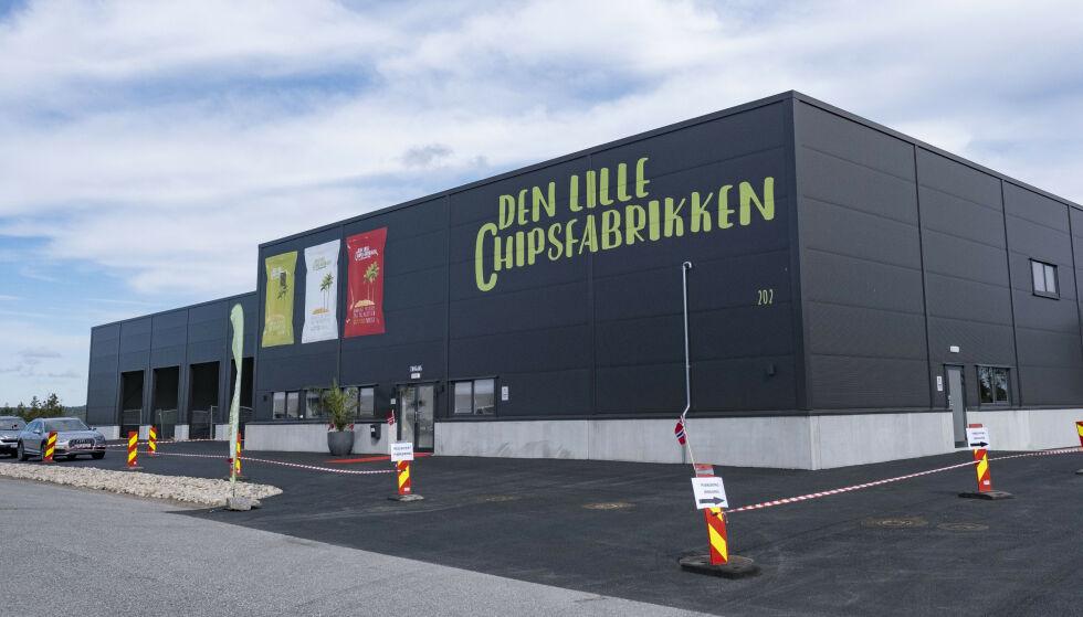 AVSLØRER GIGANTAVTALE: Sørlandschips-gründeren Terje Marcussen startet opp den konkurrerende chipsfabrikken på Sørlandet i fjor. Selv om årsrapporten foreløpig er lite å skryte av, røper Marcussen at han har et ess i ermet. Foto: Tor Erik Schrder / NTB Scanpix