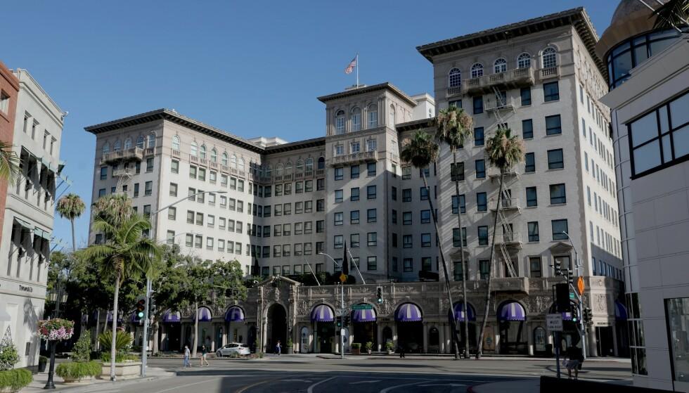 BOSTED: Det var her, på Beverly Wilshire, at sjeiken bodde under sin tid i Los Angeles. Foto: Gary Coronado / Los Angeles Times / Shutterstock / NTB scanpix