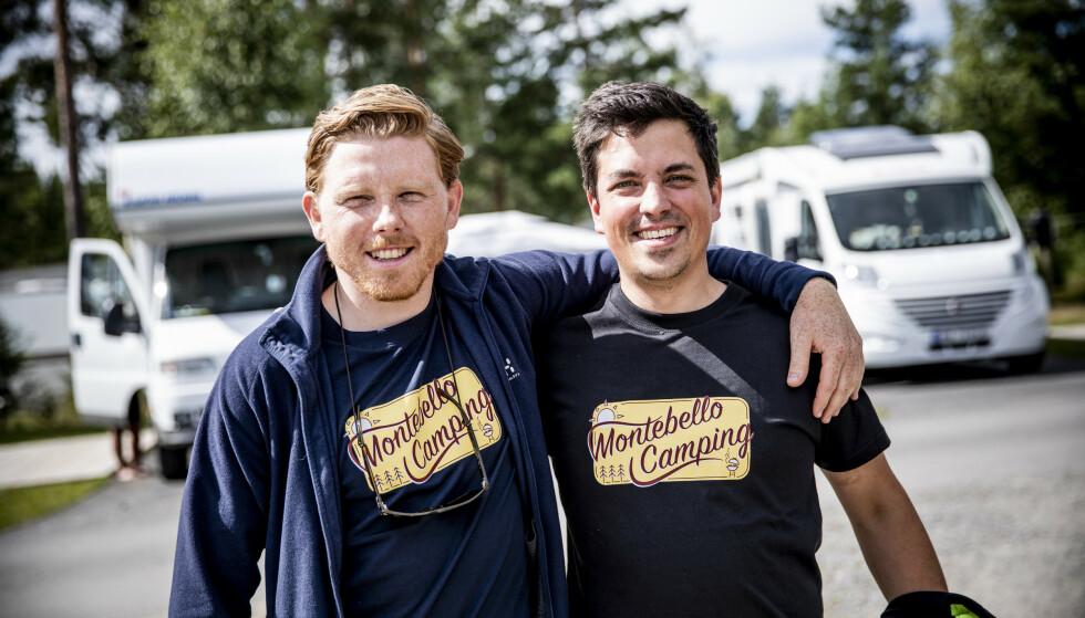 OPTIMISTER: Daglig leder Jermund Udnæseth og driftssjef Lars Christian Amundsen. Foto: Christian Roth Christensen / Dagbladet