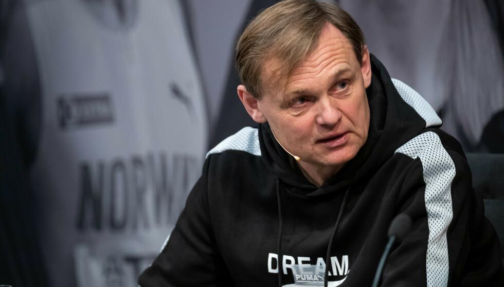 <strong>SKREKKTALL:</strong> Norske Bjørn Gulden har som administrerende direktør bidratt til solide resultater for tyske Puma de siste åra. Nå registrerer utstyrsgiganten en kjempesmell i andre kvartal. Foto: NTB Scanpix