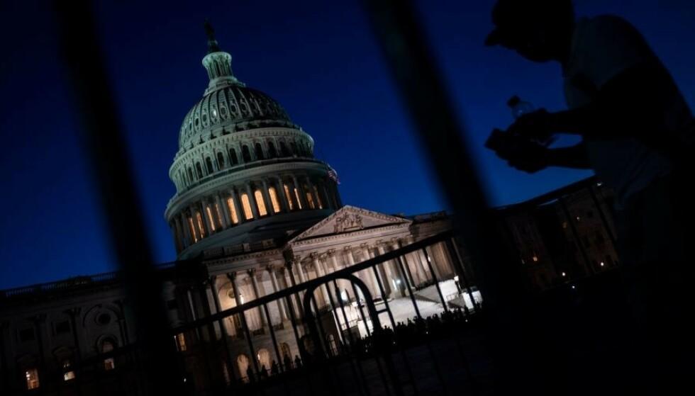 BUNN-REKORD: Amerikansk økonomi har aldri tidligere falt så dypt gjennom noe kvartal som i løpet av de tre siste månedene. Foto: NTB scanpix