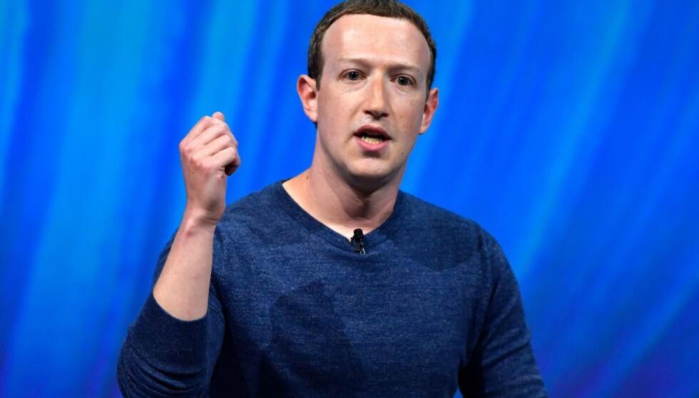 FACEBOOK: Facebook-sjef Mark Zuckerberg har grunn til å være fornøyd med resultatet for andre kvartal. Her avbildet i 2018. Foto: GERARD JULIEN / AFP
