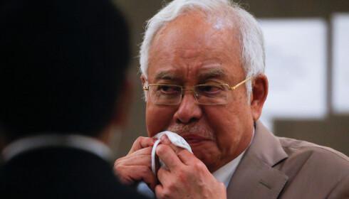 <strong>DØMT:</strong> Tidligere statsminister i Malaysia, Najib Razak. Foto: Fazry Ismail / Pool via Reuters / NTB scanpix