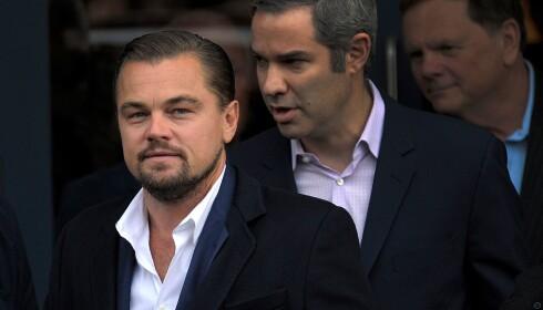 <strong>FIKK GAVER:</strong> Hollywood-stjerne Leonardo di Caprio. Foto: Andy Buchanan / AFP / NTB scanpix