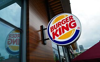 Selger Burger King i Norge
