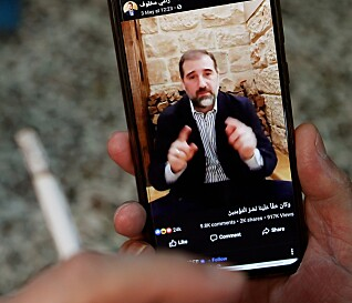 FETTER: Diktator Bashar al-Assads fetter Rami Makhlouf har luftet sine frustrasjoner på sosiale medier. Foto: AFP / NTB Scanpix