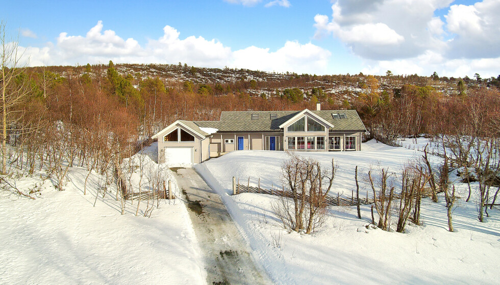 SELGER: For åtte millioner kroner, kan man nå sikre seg hytta til Ole Gunnar Solskjær i Gjevilvassdalen. Foto: Mulitfoto AS v/ Dag-Asle Langø