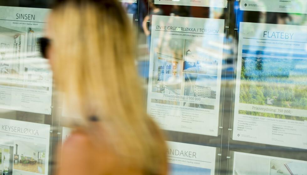 KNALLHARDT: Stivbeint regelverk har skylda for at prisene stiger mer på de minste leilighetene enn markedet generelt, hevder boligtopp. Foto: Vegard Grøtt, NTB scanpix