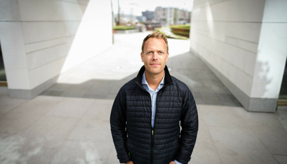 KLAR TALE: Boligtopp Jørn Are Skjelvan mener Oslo kommune «må stikke fingeren i jorda og innrømme at leilighetsnormen ikke fungerer slik den var ment». Foto: Stig B. Fiksdal