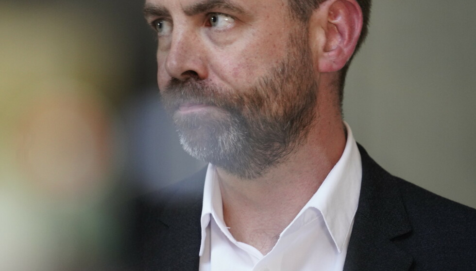 LØFTE: Arild Grande garanterer endringer i arbeidsmiljøloven om det blir regjeringsskifte neste høst. Foto: Heiko Junge / NTB
