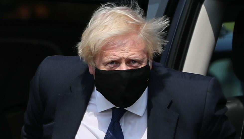 «Uforsvarlig»: Britenes «uforsvarlige og urealistiske» innstilling er grunnen til at det ikke er noen fremdrift i samtalene med EU, tordner Frankrikes utenriksminister. Statsminister Boris Johnson får mye av skylda. Foto: Brian Lawless / AFP / NTB Scanpix