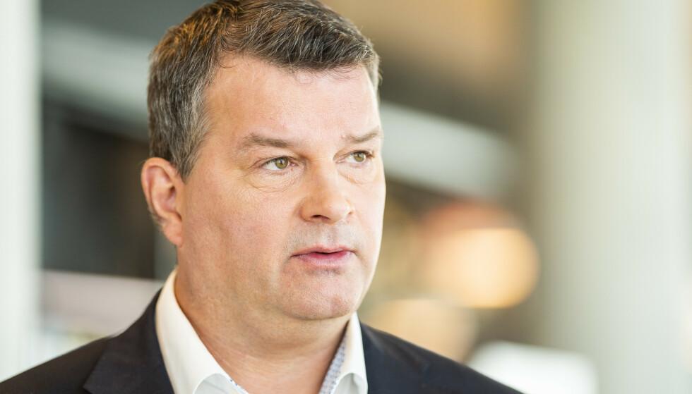MOTMÆLE: - Det siste vi trenger er usikkerhet om velferdsordninger, mener LO-sjef Hans-Christian Gabrielsen. Foto: Håkon Mosvold Larsen / NTB scanpix