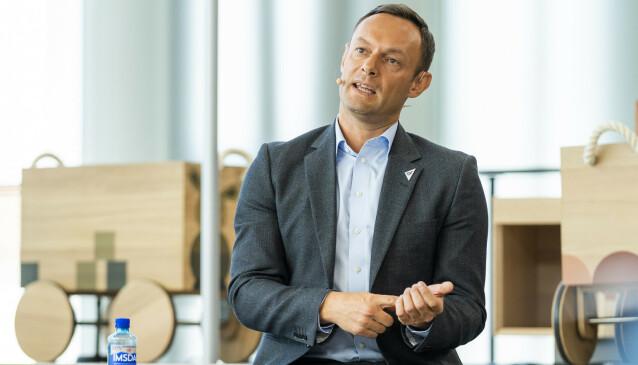 LUFTA UT: SV-nestleder Torgeir Knag Fylkesnes mener NHO snublet på oppløpet i arbeidet med veikartet. Foto: Håkon Mosvold Larsen / NTB scanpix