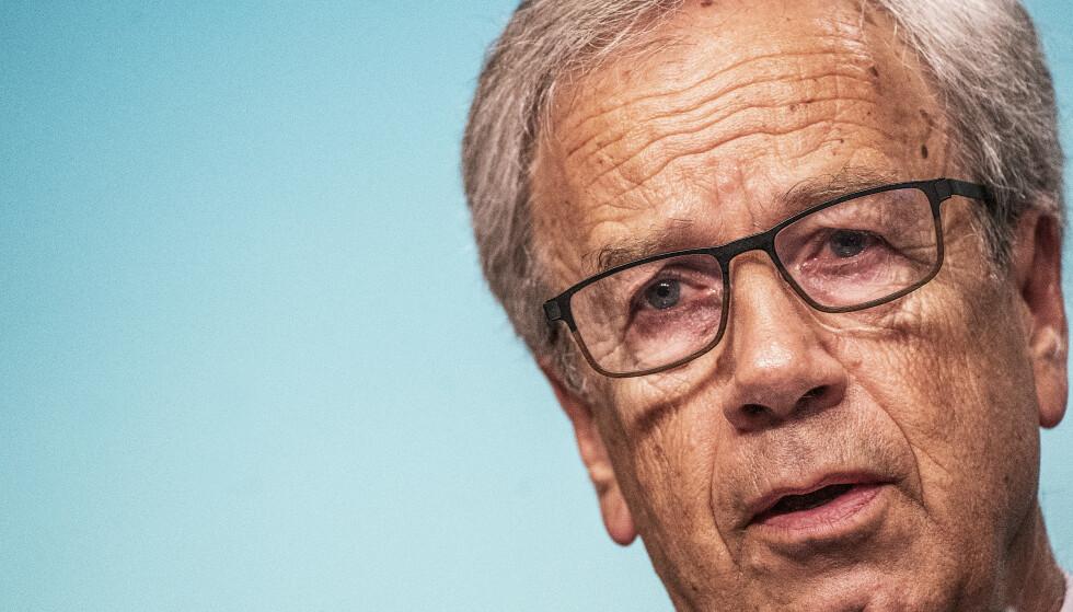 <strong>HISTORISK:</strong> Sentralbanksjef Øystein Olsen i Norges Bank sørget for det historiske rentekuttet til null for å unngå at bunnen falt ut av boligmarkedet. Nå kan han bli den første i verden til å heve styringsrenta.