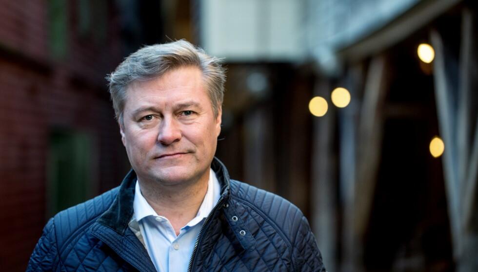 BRYTER TAUSHETEN: Idar Vollvik beklager overfor kunder. Vollvik er siktet for brudd på loven om medisink utstyr. Foto: Eivind Senneset / Dagbladet.