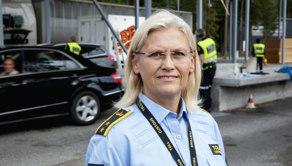 TOLLVESENET: Seksjonssjef i Tollvesenet, Kjersti Bråthen, håper nordmenn hører på myndighetens råd. Foto: Nina Hansen / Dagbladet.