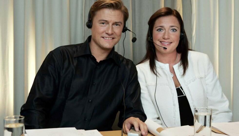 BEGGE SIKTET: Idar Vollvik med kona Anita under TV2s artistgalla for Plan Norge i 2005. Nå er begge siktet i forbindelse med den mye omtalte munnbind-saken. Foto: Erlend Aas / NTB Scanpix