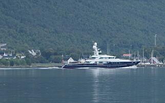 Superyacht i Norge