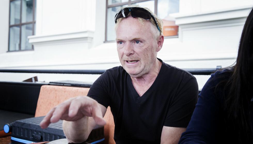 UENIG: Per Sandberg går til kraftig angrep på vedtaket om nasjonal skjenkestopp. Foto: Henning Lillegård / Dagbladet .