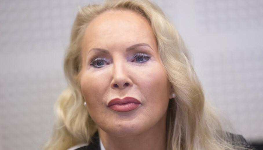 SELGER: Mona Høiness vil selge villaen hun i mange år har kjempet for å beholde. Foto: Terje Bendiksby / NTB scanpix