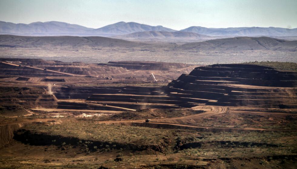 ØDELAGT: Det engelsk-australske selskapet sprengte i mars flere 46 000 år gamle huler i Juukan Gorge i Vest-Australia, og ødela slik den eldste kjente bosetningen til Australias urbefolkning. Foto: SWNS / NTB Scanpix