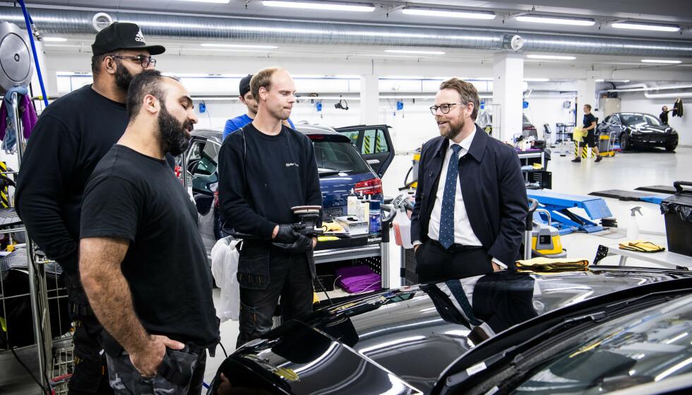 I SJOKK: Arbeidsminister Torbjørn Røe Isaksen. Foto: Lars Eivind Bones / Dagbladet