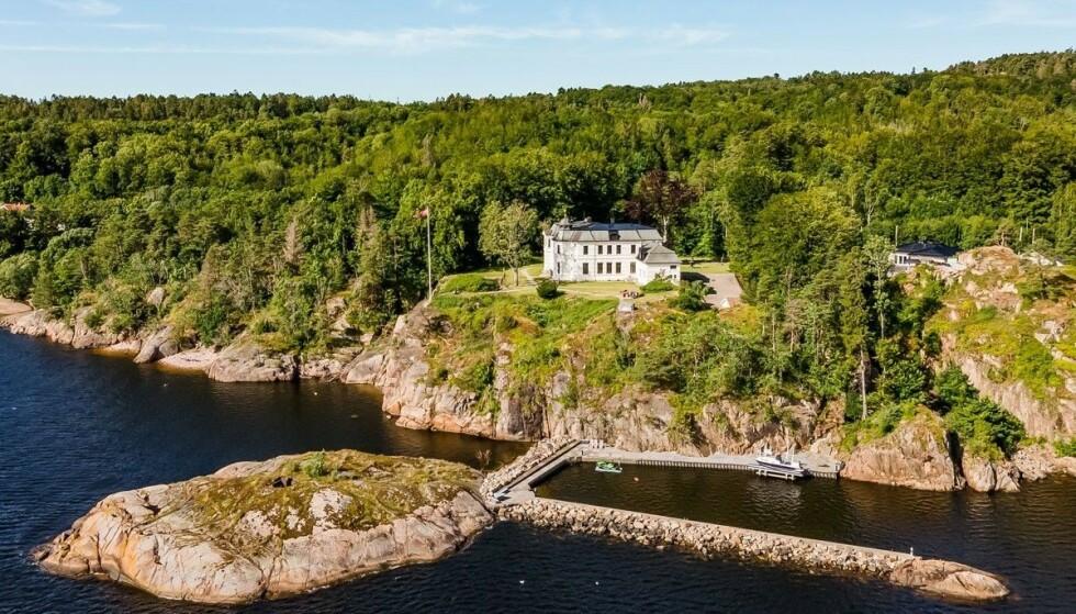 NY EIER: «Balders Have» ble solgt fredag. I løpet av åra har eiendommen huset en rekke profilerte personer innen norsk næringsliv. Foto: Inviso