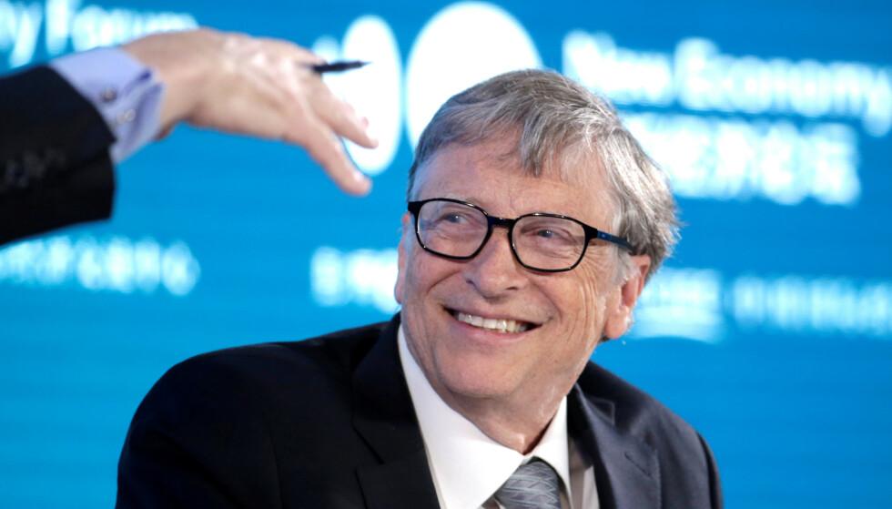 <strong>KLIMAENGASJERT:</strong> Bill Gates. Avbildet i november i fjor. Foto: REyters