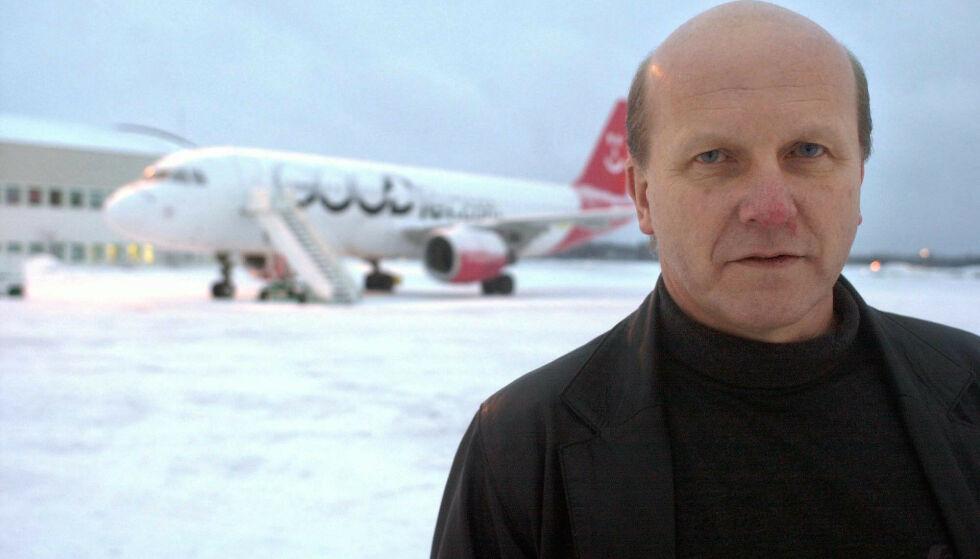 PÅ TILBUDSSIDEN: Alf Reidar Fjeld, tidligere lufthavnsjef ved Torp, har lagt et usedvanlig forslag på bordet til Færder kommune. Foto Kurt Andrè Høyessen / SCANPIX