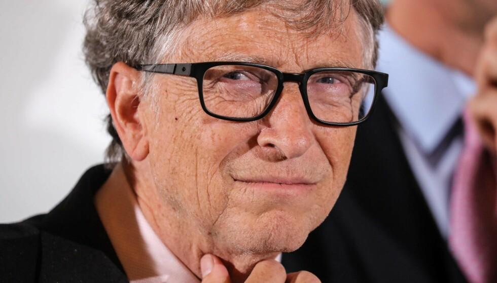 BEKYMRET, MEN HAR HÅP: Bill Gates frykter at corona-dødsfallene vil stige i løpet av høsten. Samtidig har han håp om at en vaksine vil nå ut til alle verdens land neste sommer. Foto: Ludovic Marin / AFP / NTB