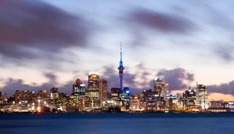 KRYMPET: Landets brutto nasjonalprodukt krympet med 12,2 prosent i årets andre kvartal – den største nedgangen som er blitt registrert noen gang. Bilde fra Auckland, New Zealand. Foto: Chris Howey / Shutterstock / NTB scanpix