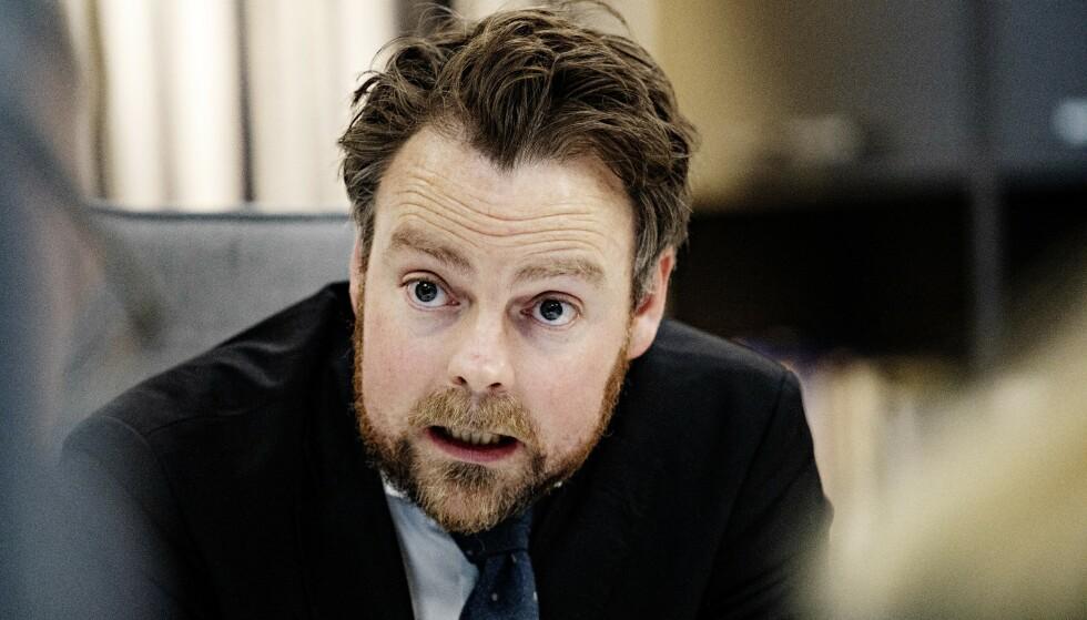 <strong>MÅ HANDLE:</strong> Virker krever at Torbjørn Røe Isaksen nå for på plass en godkjenningsordning for bilvask. Foto: Nina Hansen / Dagbladet