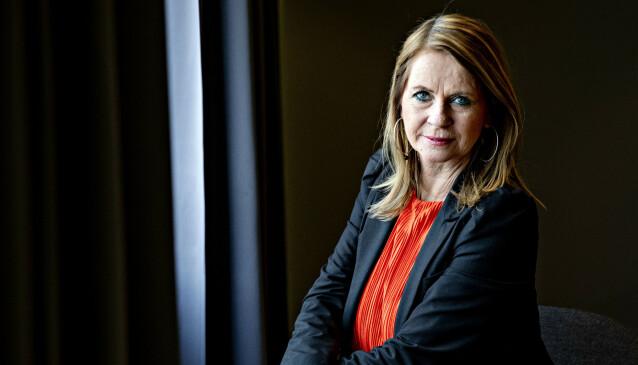 INNFLYTELSE: Abelia-direktør Øystein Eriksen Søreide er et godt eksempel på at Norske Selskab ikke er en herreklubb for pensjonister, sier Ellen Arnstad. Foto: Nina Hansen