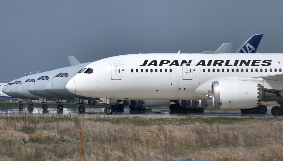 KJØNNSNØYTRAL: Flyselskapet Japan Airlines har endret måten de snakker til passasjerene sine for å være mer inkluderende. Foto: Kazuhiro Nogi / AFP / NTB