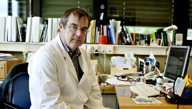 ADVARER: Priskrig kan gi økt forbruk, advarer leder Svein Aarseth i Rådet for legeetikk. Foto: Torbjørn Grønning