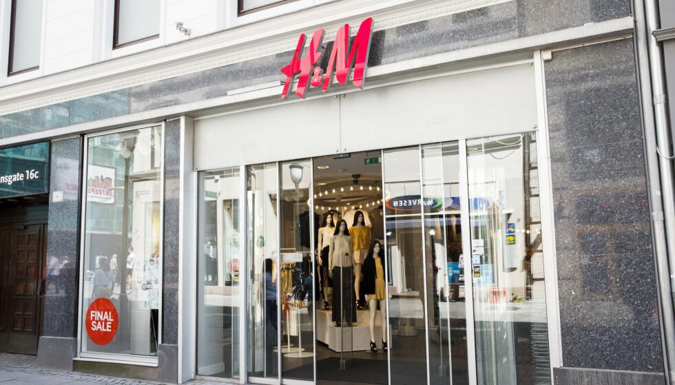 MÅ PUNGE UT: Siden 2014 samlet H&M-ledere angivelig opplysninger om forhold i privatlivet til ansatte, inkludert helsediagnoser, familieproblemer og religiøs tro. Foto: Berit Roald / NTB