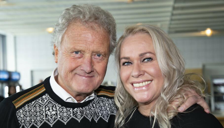 - HAR STORKOST SEG: Dan Børge og kona Mette Akerø skal flytte fra sitt hjem på Fagerborg i Oslo. Foto: Geir Olsen / NTB