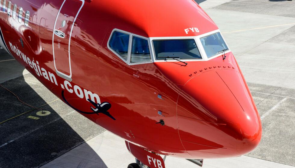 KAN LEGGE NED: Norwegian vurderer å legge ned basen sin ved flyplassen Gatwick i London. Stengingen kan gå utover 259 ansatte. Foto: NTB Scanpix