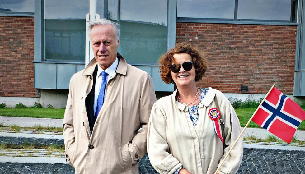 Anne-Elisabeth Hagen og Tom Hagen. Bilder godkjent av familien.