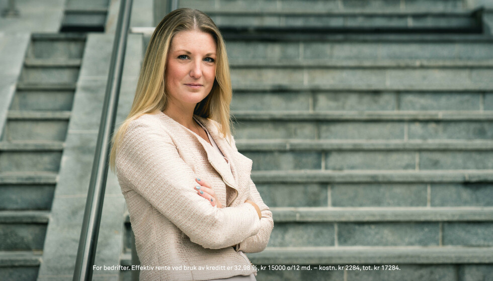 <strong>FREMTIDSLØSNING:</strong> Ulrika er strategisk forretningsutvikler hos Eurocard, og har gode råd om hvordan du fremtidssikrer bedriften.
