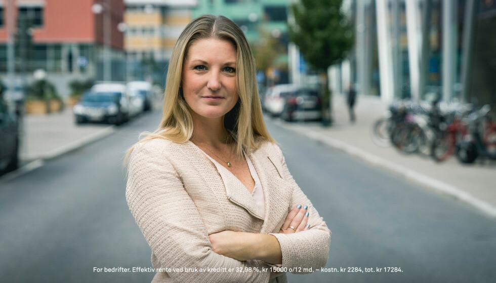 <strong>KREATIV:</strong> Våg å tenke utenfor boksen, råder Ulrika Ledel hos Eurocard.