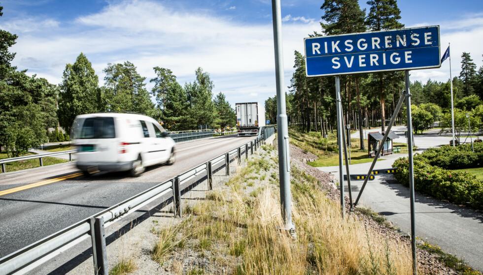 IKKE BARE NEDTUR: Grensehandelen har blitt hardt rammet av coronanedstengninger, men det er likevel ikke alle våre naboer i øst som fortviler. Foto: Christian Roth Christensen / Dagbladet
