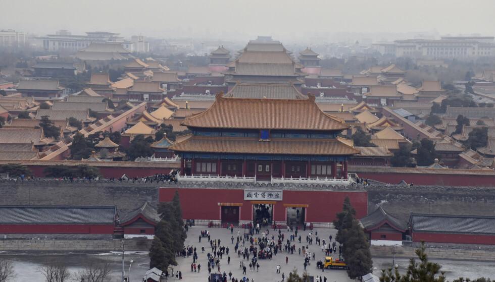 STIGER: Kinas eksporttall stiger raskt, viser nye tall fra de kinesiske tollmyndighetene. Foto: Splash News / NTB