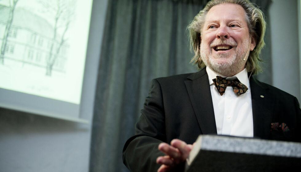 Trondheim  20160308. Reitangruppens Årsresultat for 2015 presenteres. Odd Reitan. Foto: Ole Martin Wold / NTB